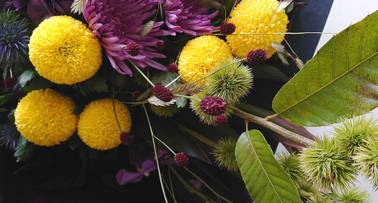 Leaf リーフ 花アレンジメント